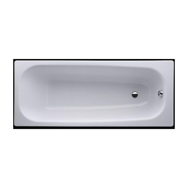 Laufen Pro Badewanne mit Schallschutz ohne Antisip L:160xB:70cm weiß H2239500000401