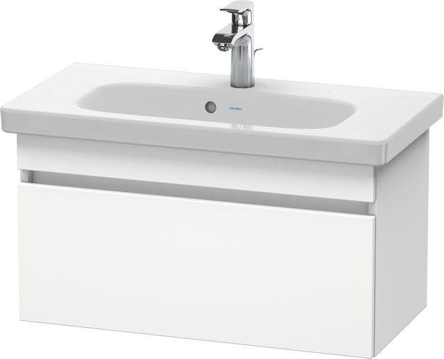 Duravit DuraStyle Waschtischunterschrank wandhängend B:73xH:39,8xT:35 cm mit 1 Auszug weiß matt DS639901818