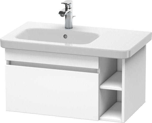 Duravit DuraStyle Waschtischunterbau wandhängend 448x730x398 1 Auszug weiß matt/ weiß matt DS639401818