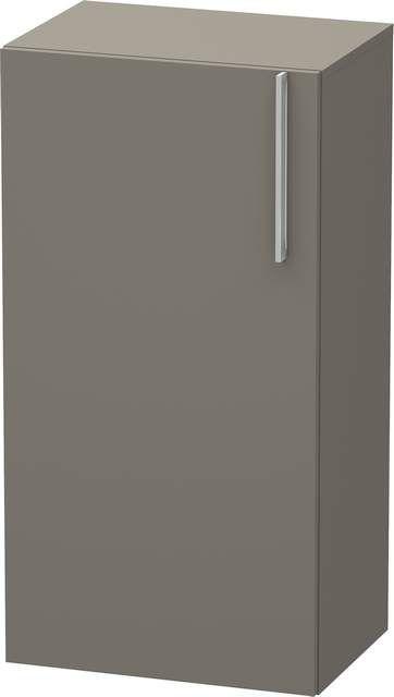 Duravit Vero Halbhochschrank B:50xH:96xT:36cm 1 Tür Türanschlag links flannel grey seidenmatt VE1156L9090