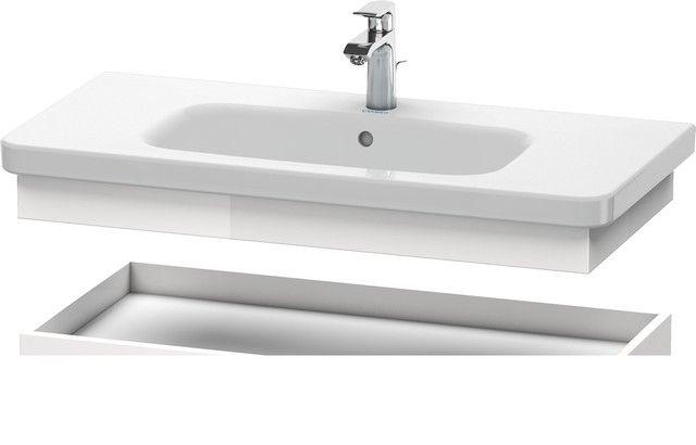 Duravit DuraStyle Ablageboard B:93xH:8,4xT:44,8cm weiß matt, basalt matt DS618201843