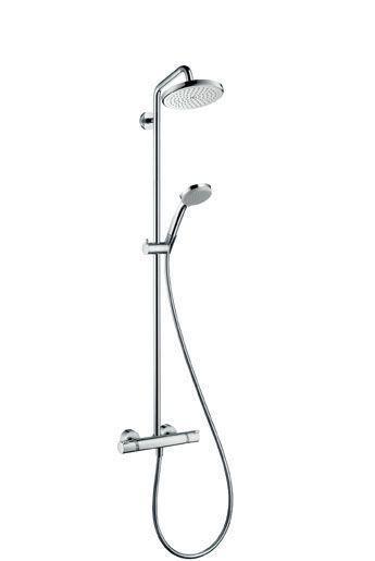 Hansgrohe Croma 220 27188000 Showerpipe EcoSmart chrom