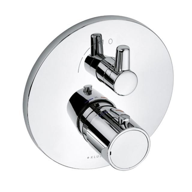KLUDI O-CEAN /ZENTA Unterputz-Thermostat Feinbau-Set mit Absperr-und Umstellventil 388350545
