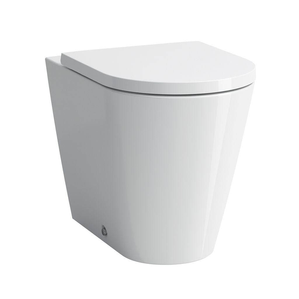 Laufen Stand-Tiefspül-WC Kartell by Laufen 560x370x430 spülrandlos Abgang waagrecht /senkrecht LCC weiss H8233374000001