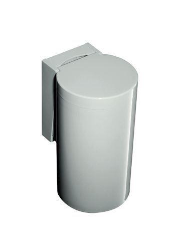 HEWI Abfallbehälter Serie 477 zur Kniebetätigung Felsgrau 477.05.100 95