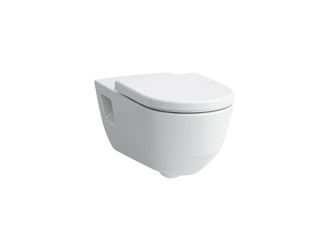 Laufen PRO Tiefspül-WC 70x36,5x33,5cm spülrandlos barrierefrei weiss H8219600000001