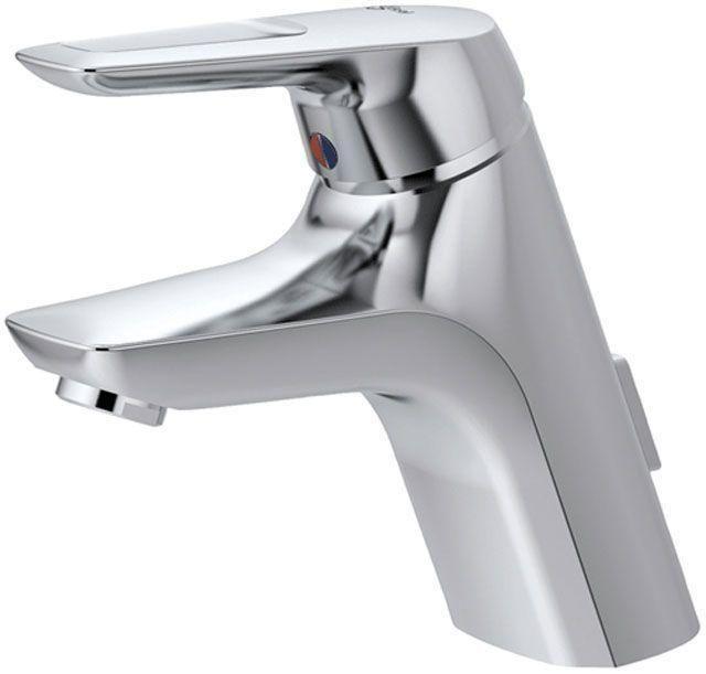 Ideal Standard Ceramix Einhebel-Waschtischarmatur mit Ablaufgarnitur chrom A5658AA