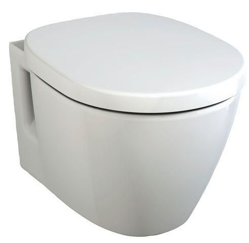 Ideal Standard Contour 21 Tiefspül-Wand-WC L:48xB:36cm Weiß Alpin mit Ideal Plus E8018MA