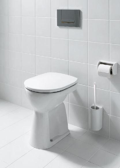 Laufen Pro Flachspül-Stand-WC L:47xB:36cm weiß mit CleanCoat LCC H8259574000001
