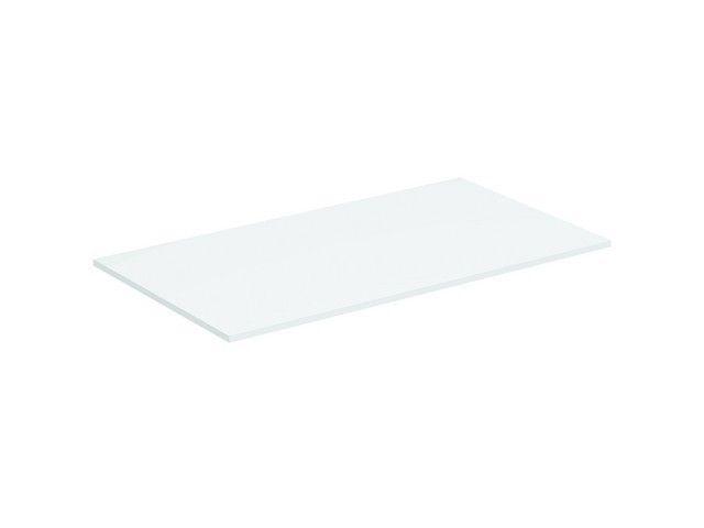 Ideal Standard Tonic II Holzkonsole B:80,2xH:1,2xT:44,4 cm für Waschtischunterschränke oder Konsolenträger weiß lackiert hochglanz R4322WG
