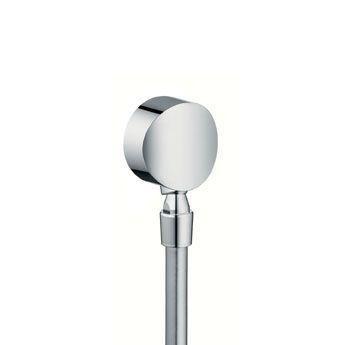 Hansgrohe Fixfit S 27506000 Schlauchanschluß DN15 mit Rückflussverhinderer und Kugelgelenk chrom