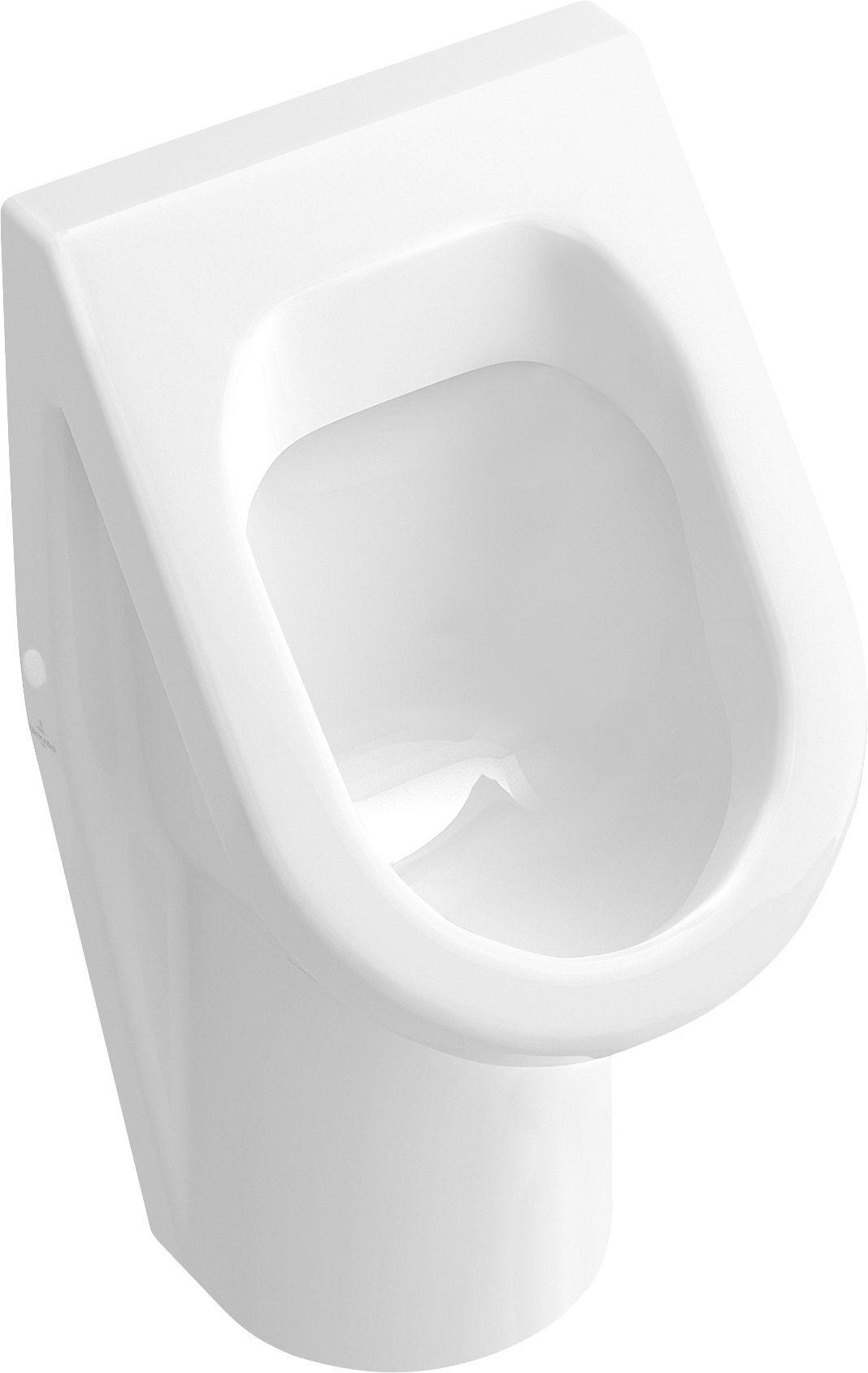 Villeroy & Boch Architectura Urinal ohne Deckel Zulauf verdeckt weiß mit ceramicplus 557400R1