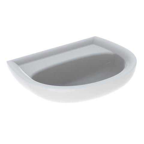 Geberit Keramag Renova Handwaschbecken B:50xT:38cm ohne Hahnloch ohne Überlauf weiß 273051000