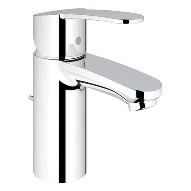 Grohe Eurostyle Cosmopolitan Einhand-Waschtischbatterie Zugstangen-Ablaufgarnitur chrom 33552002