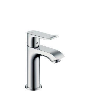 Hansgrohe Metris 31088000 Waschtischmischer 100 für Handwaschbecken chrom