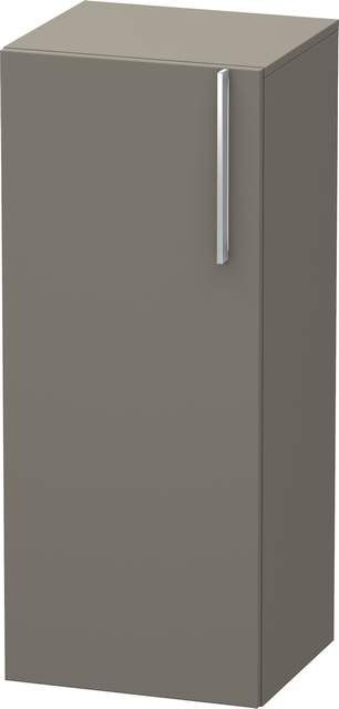Duravit Vero Halbhochschrank B:40xH:96xT:36cm 1 Tür Türanschlag links flannel grey seidenmatt VE1106L9090