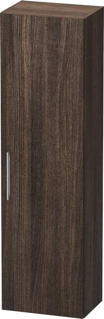 Duravit Vero Hochschrank B:50xH:176xT:36cm 1 Tür Türanschlag rechts kastanie dunkel VE1166R5353