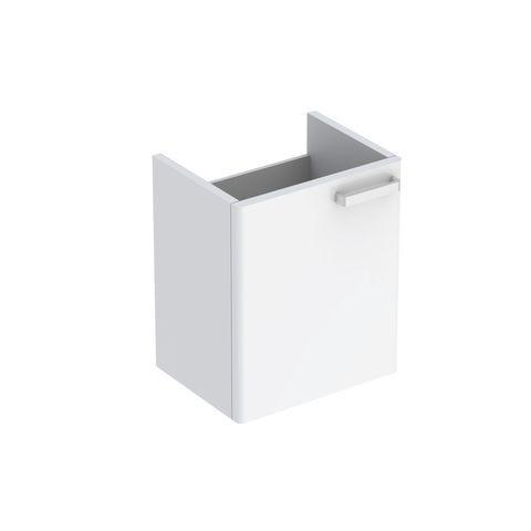 Geberit Keramag Renova Plan Handwaschbecken-Unterschrank mit 1 Tür Türanschlag rechts B:390xT:285xH:463mm weiß hochglanz 879340000