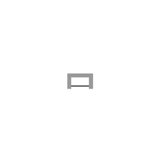 Duravit DuraStyle Wannenverkleidung L:159cm für Wanne Nische für Wanne #700292/293 weiß acryl DS893708282