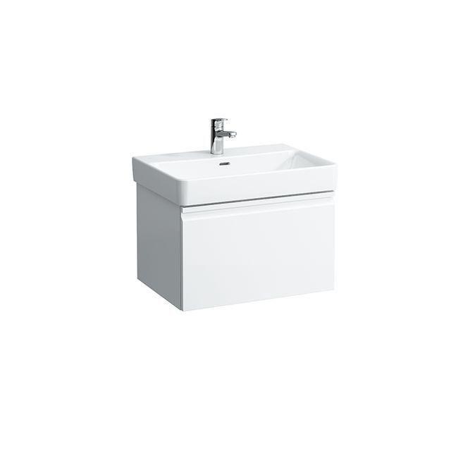 Laufen Pro S Waschtischunterbau 1 Schublade und Innenschublade B:61,5xH:39xT:45cm weiß glänzend H4834220964751