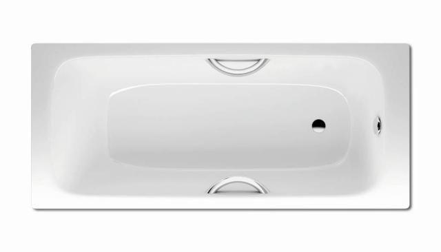 Kaldewei Advantage CAYONO STAR 757 Badewanne Rechteck 180x80x41cm alpinweiß Perl-Effekt 275700013001