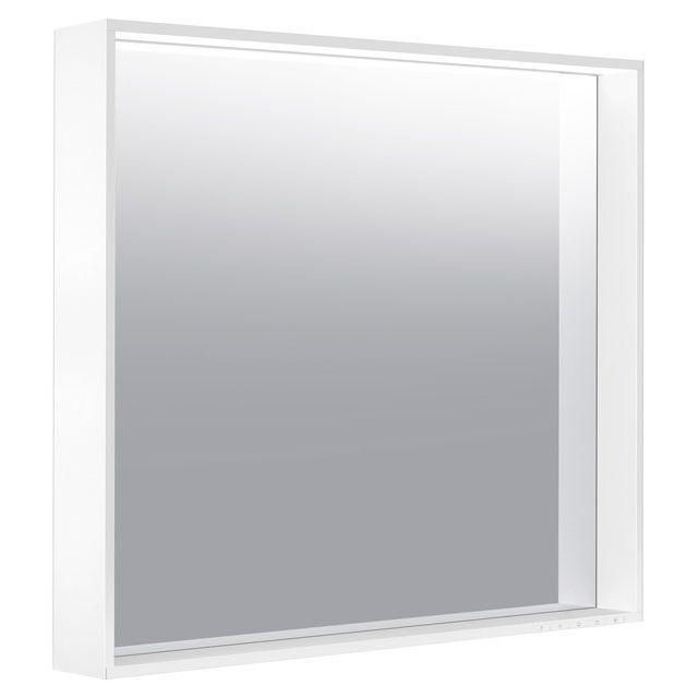 Keuco X-LINE LED-Lichtspiegel B:80xH:70xT:10,5 cm anthrazit seidenmatt 33297112500
