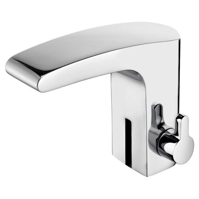 Keuco Elegance Waschtischarmatur sensor-Netz mit Ablaufgarnitur verchromt 51611010001