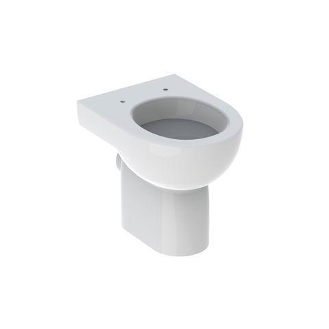Geberit Keramag Renova Flachspül-Stand-WC L:47,5cm Weiß 203010000
