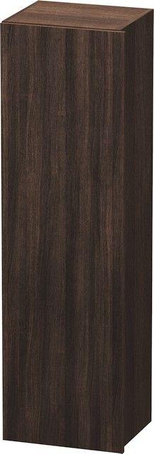 Duravit DuraStyle Hochschrank B:40xH:140xT:36 cm mit 1 Tür Türanschlag links kastanie dunkel DS1219L5353