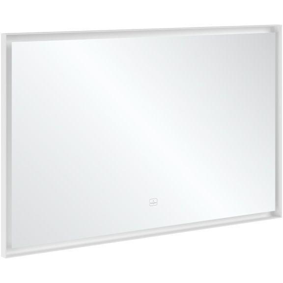 Villeroy & Boch Subway 3.0 Spiegel 120x75x4,75cm mit Beleuchtung White Matt A4631200