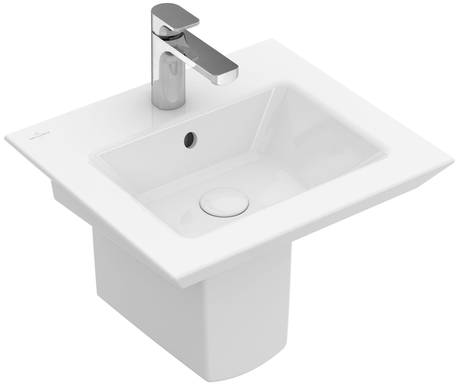 Villeroy & Boch Sentique Ablaufhaube weiß mit ceramicplus 522200R1