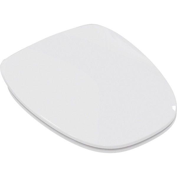 Ideal Standard DEA WC-Sitz Scharniere aus edelstahl ohne Absenkautomatik weiß T676601