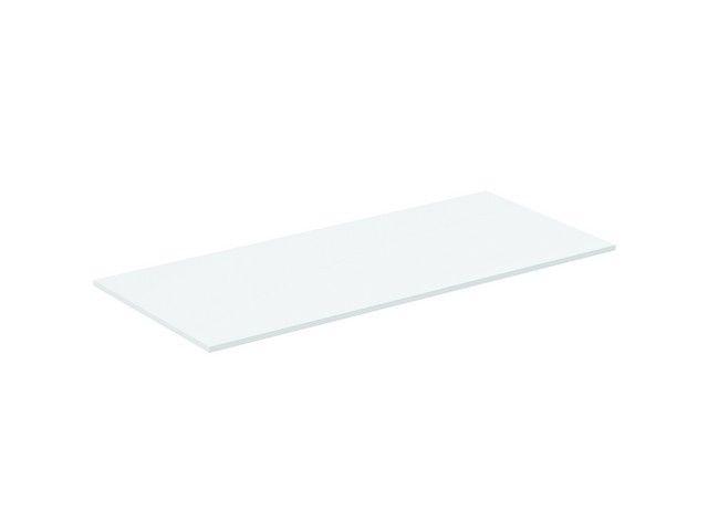 Ideal Standard Tonic II Holzkonsole B:100,2xH:1,2xT:44,4 cm für Waschtischunterschränke oder Konsolenträger weiß lackiert hochglanz R4323WG