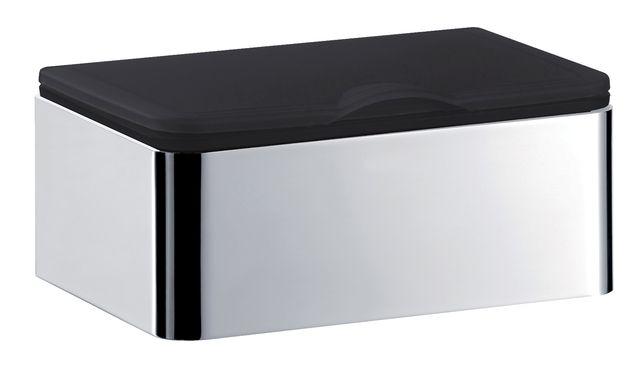 Emco system 2 Feuchtpapierhalter chrom/ schwarz 353900101