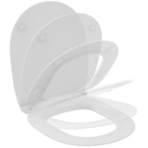 Ideal Standard Connect WC-Sitz Flat mit Absenkautomatik Weiß E772401