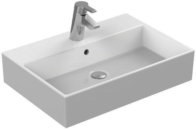 Ideal Standard Strada Waschtisch B:60xT:42cm 1 Hahnloch mittig mit Überlauf weiß K077801