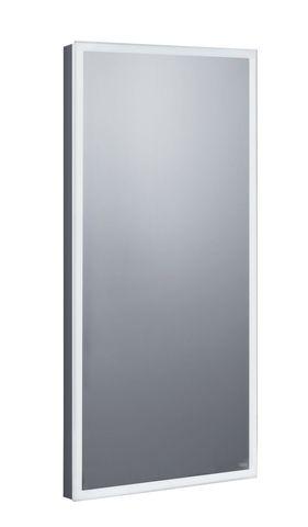 Emco asis prestige Lichtspiegel B:40xH:80cm LED-Beleuchtung mit Farbwechsel chrom 919606040