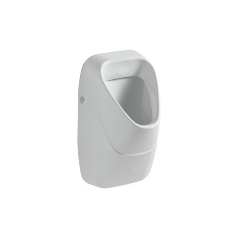 Geberit Keramag Alivio Urinal ohne Deckel mit Sieb mit Zielobjekt Zulauf oben 238060600