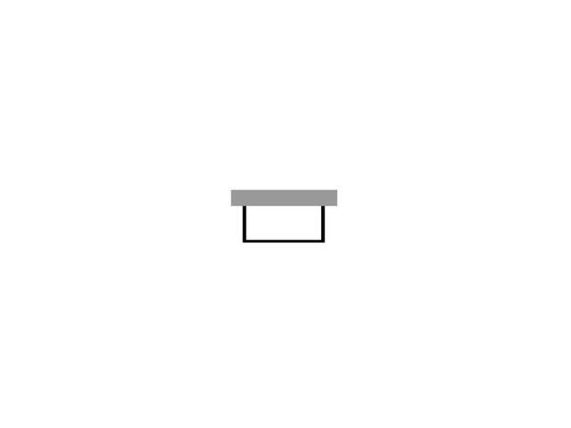Duravit Starck Wannenverkleidung 1680x690 Vorwandversion für Wanne 700334 weiß acryl ST877608282