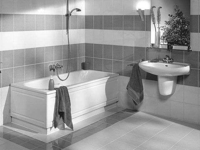 Kaldewei Bako Verkleidungssystem 1700 Längsteil für Saniform Plus L:170xB:42xT:4cm weiß 685500030001