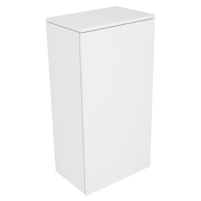 Keuco Edition 400 Mittelschrank 1-türig  Anschlag rechts 450 x 894 x 300 mm weiß hochglanz/weiß hochglanz 31725210002