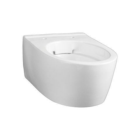 Geberit Keramag ICon Tiefspül-Wand-WC kurz ohne Spülrand L:49xB:35,5xH:41cm Weiß mit KeraTect 204070600