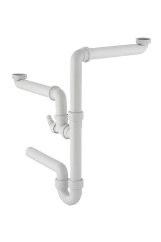 Geberit Spültisch-Ablauf Größe 1 1/2x40 mm weiß 152886111