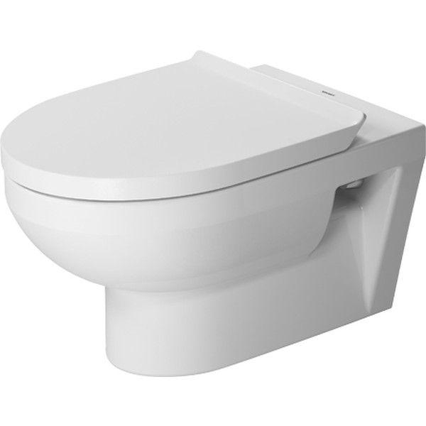 Duravit DuraStyle Basic Tiefspül-Wand-WC rimless ohne Spülrand L:54xB:36,5cm weiß mit WonderGliss 25620900001