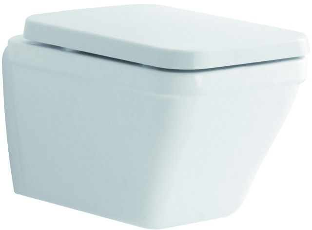 Geberit Keramag Era WC-Sitz mit Deckel  Scharniere Messing verchromt mit Absenkautomatik weiß 574510000