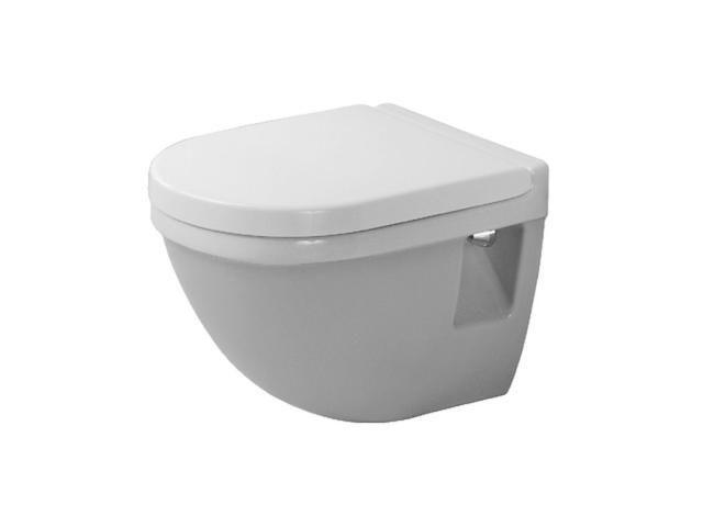 Duravit Starck 3 Tiefspül-Wand-WC Compact L:48,5xB:36cm weiß mit WonderGliss 22020900001