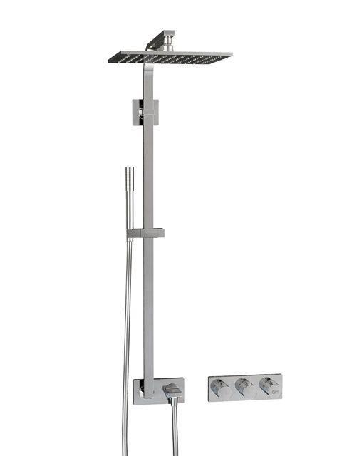 Ideal Standard ARCHIMODULE Brauseanwendung mit Brausesystem und Handbrause chrom A1558AA
