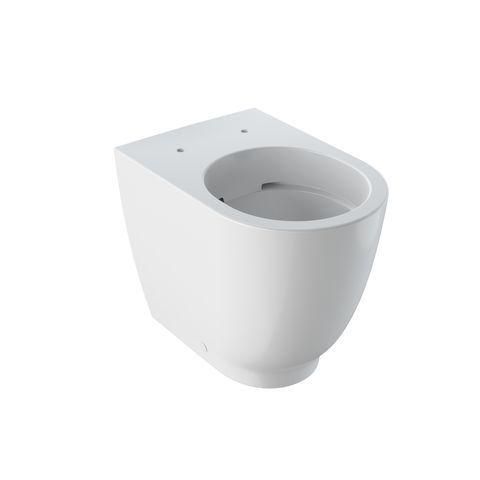 Geberit Keramag Acanto Tiefspül-Stand-WC ohne Spülrand Abgang waagerecht weiß mit KeraTect 500602018