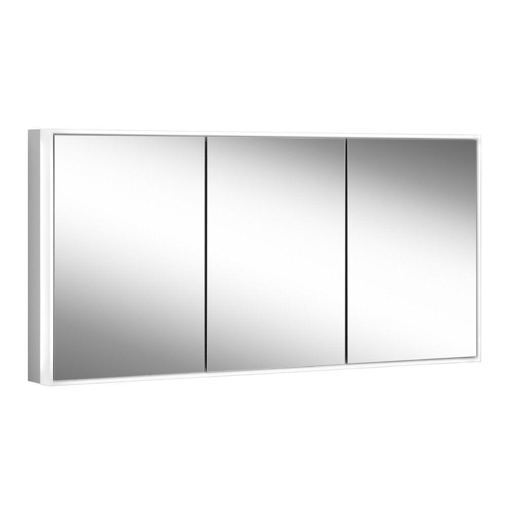 Schneider Spiegelschrank PREMIUM Line Ultimate 180/3/GT/HCL B:82,5xH:73,3xT:15,8cm mit Beleuchtung mit Kosmetikspiegel elexoiert