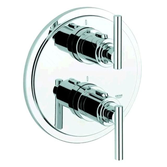 Grohe Atrio Unterputz-Thermostat-Brausebatterie chrom 19398000